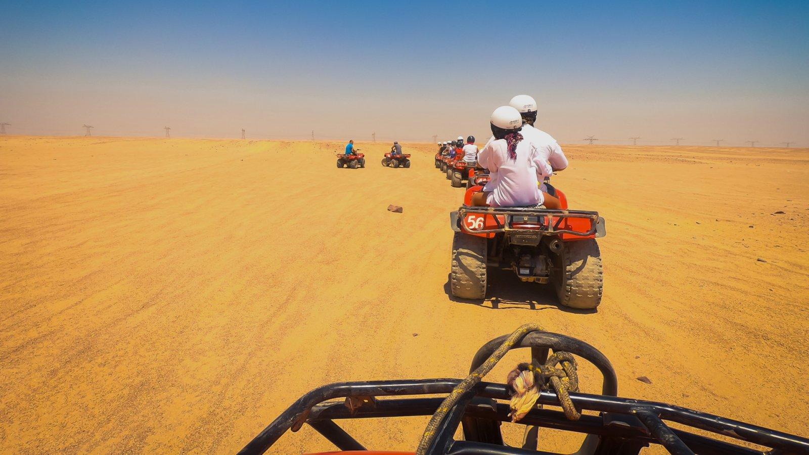 Quadem po Pustyni Arabskiej