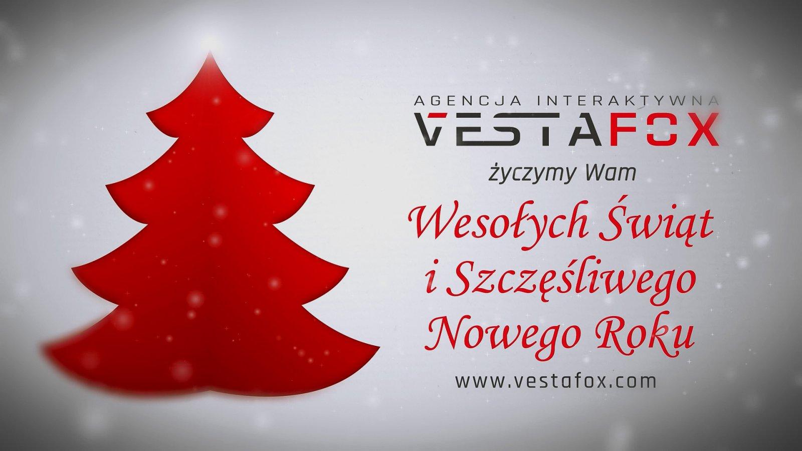 Vestafox - spot na Święta Bożego Narodzenia
