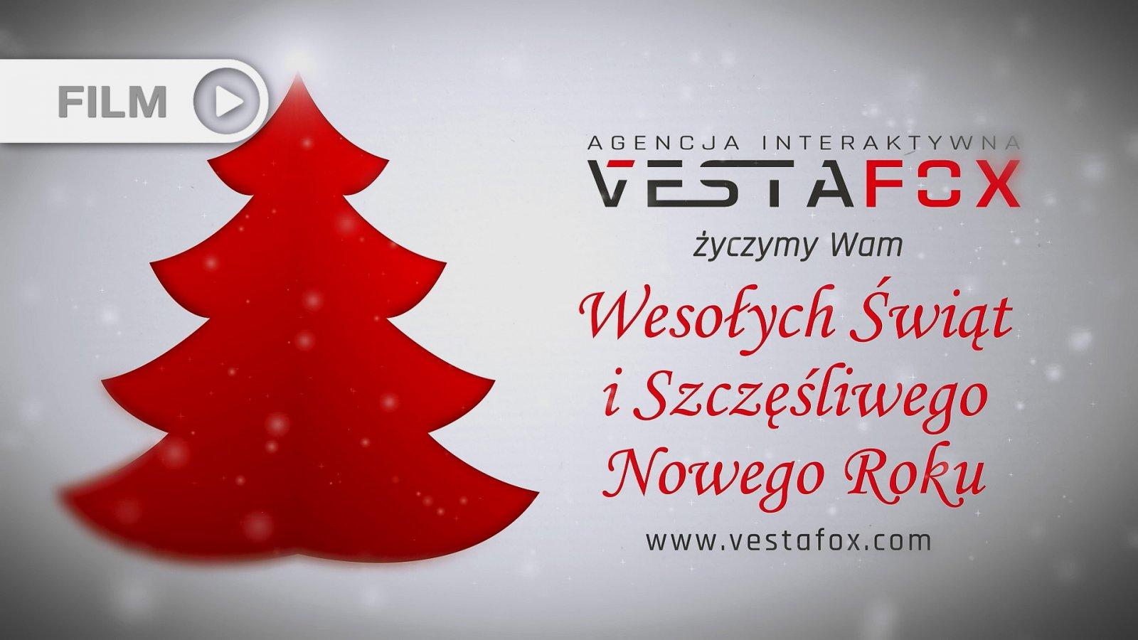 VestaFox - Spot z Życzeniami Świątecznymi